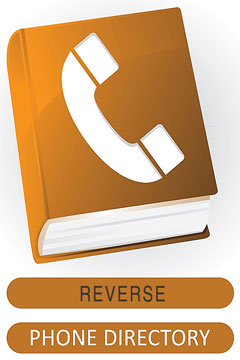reverse phone directory